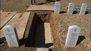 PHOTOS: A look at burial containers at the Southwest Virginia Veterans Cemetery