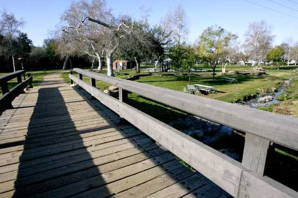 Johnny Carson Park in Burbank on Tuesday, February 12, 2013.