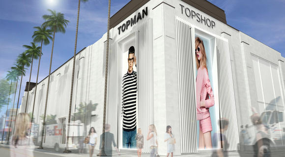 Topshop to open in L.A.