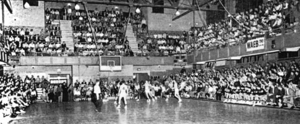 Allen's cozy Little Palestra was considered a palace of high school gyms when it opened in 1930.