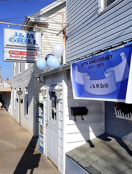 J&M Grill on South Potomac Street in Hagerstown is celebrating 40 years in business.