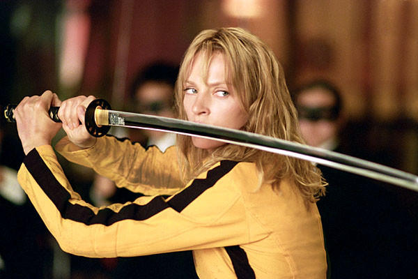 "The Bride, played by Uma Thurman, in Quentin Tarantino's ""Kill Bill"" had a pretty tragic wedding day. Her co-workers in an assassination hit squad massacred members of her wedding party, shot her in the head, and took her yet unborn child. All ordered by the father of her child.<br><br>  <b>Why it failed/how they broke up:</b> Obviously, the relationship that the Bride had with Bill was a bit damaged. After enacting revenge on each member of the hit squad who killed her, she ultimately found Bill and her daughter -- then she killed him."