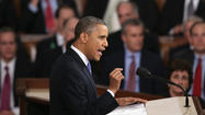 "WASHINGTON – Declaring that the nation is stronger ""after years of grueling recession,"" President Obama advocated an array of modest second-term initiatives Tuesday night that he said wouldn't bust the federal budget."