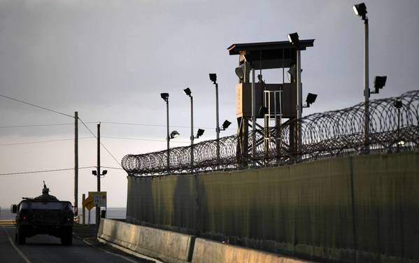The U.S. military prison at Guantanamo Bay in Cuba.
