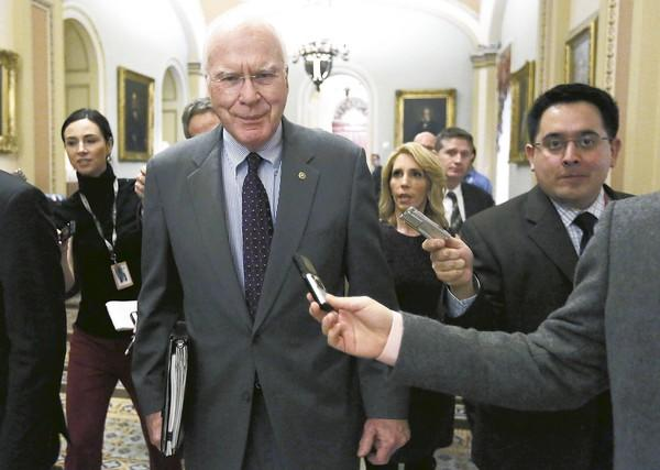 Sen. Patrick J. Leahy (D-Vt.) says he will push for expanded visas for battered immigrants in other legislation. House Republicans had objected to the provision in last year's effort to reauthorize the Violence Against Women Act.