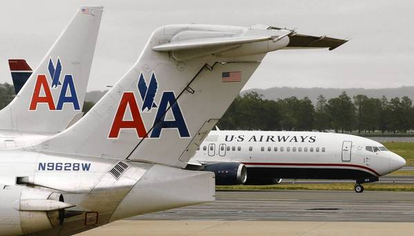 A merger of American Airlines and US Airways would create the world's largest airline.