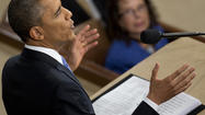"President Obama's State of the Union address Tuesday, the first of his second term, won't be long remembered. It didn't offer much in the way of new ideas. It was short on memorable lines — except, perhaps, his demand for congressional action on gun control because Gabby Giffords and the families of Newtown ""deserve a vote."""