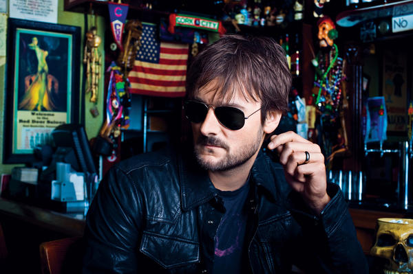 Country singer and songwriter Eric Church leads the Academy of Country Music Awards nominations with seven.