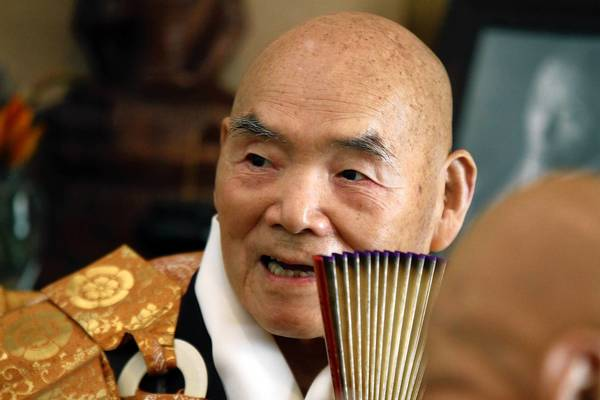 Joshu Sasaki Roshi celebrated his 50th anniversary at Rinzai–ji Zen Center in Los Angeles last year.