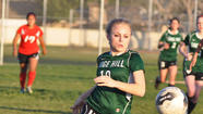 Senior Madi Jabara scored in the shootout for Sage Hill, which won, 3-1, after a 1-1 tie against Norte Vista.