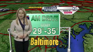 VIDEO Wednesday's commuter weather forecast