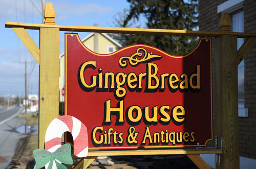 The GingerBread House Gifts & Antiques in Trexlertown.
