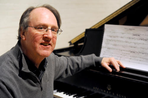 Douglas Ovens, outgoing chair of the Muhlenberg Music Dept., is celebrating his 60th birthday with a concert featuring his works performed by Muhlenberg faculty.
