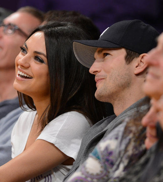 "<B>Set where they met</b>: ""That '70s Show""<BR><BR><B>Relationship status</b>: They haven't officially confirmed their relationship, but it's widely regarded that they're dating. They hooked up after Kutcher divorced wife Demi Moore."