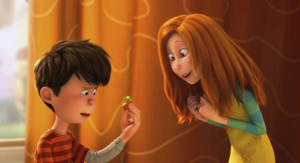"The idealistic young Ted (ZAC EFRON) shows a rare seedling to the girl of his dreams, Audrey (TAYLOR SWIFT), in ""Dr. Seuss' The Lorax"", a 3D-CG adventure from the creators of ""Despicable Me"" and the imagination of Dr. Seuss."