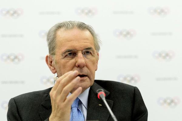 IOC President Jacques Rogge, above, will meet with FILA President Raphael Martinetti to discuss wrestling's place in the Olympics.