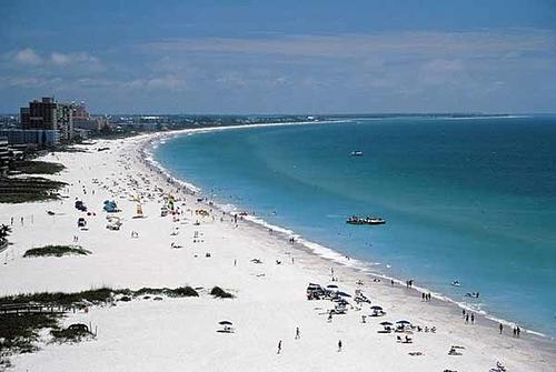 St. Pete Beach offers beautiful crystal blue waters with white sand beaches.