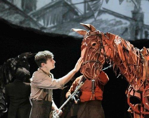 "Seth Numrich as Albert in 'War Horse"" in the Lincoln Center Theatre Production. It plays the Bushnell Jan. 28 to Feb. 7, 2014."