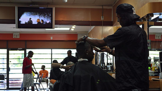 Photo: Strictly Skillz barber shop