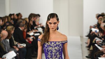 New York Fashion Week fall 2013: Oscar de la Renta review