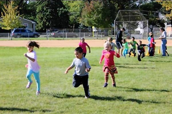 The Run-a-Thon at Emerson Elementary School in September in Wheaton Warrenville District 200 raised nearly $10,000 in one day.