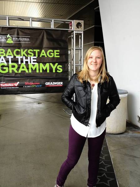 Hannah Rand visited Los Angeles last weekend and watched musicians like Kelly Clarkson rehearse Grammy awards show performances.