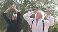 Several Ripley Entertainment attractions, including the Odditorium on Orlando's International Drive, will mark World Sword Swallowers Day with activities on Feb. 23.