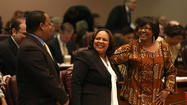 New Ald. Natashia Holmes sworn in