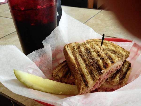 "The ""Special D"" is a classic Reuben at Cogan's Deli & Sports Pub in Williamsburg's New Town area."