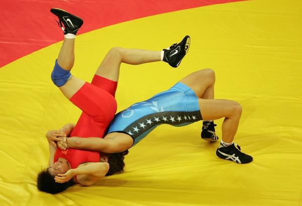 Should wrestling replace, uh, wrestling at the Summer Olympics?