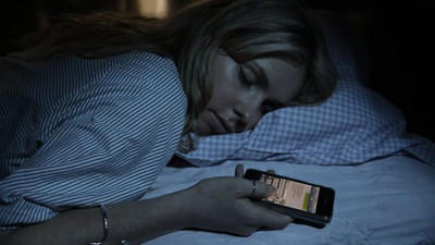 "A New Trend Among Teens is ""Sleep-Texting"""