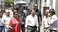 Days after his arrest was ordered, the former president of the Maldives sought refuge Wednesday at the Indian embassy, the latest twist in a political saga that has gripped the chain of islands south of India.