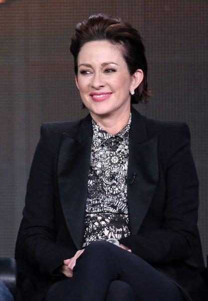 "Actress Patricia Heaton of ""The Middle"" speaks at the Winter 2013 Television Critics Assn."