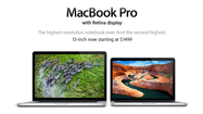 Apple is reducing prices for its 13-inch MacBook Pro with Retina display laptops while also upgrading their processors, just a few months after releasing the laptop models.