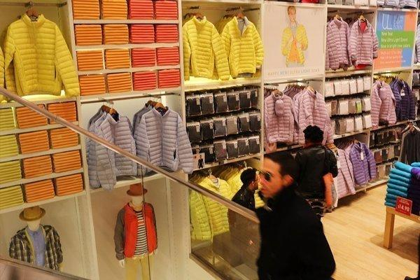 The pace of shopping slowed at clothing stores and at some other retail stores last month.
