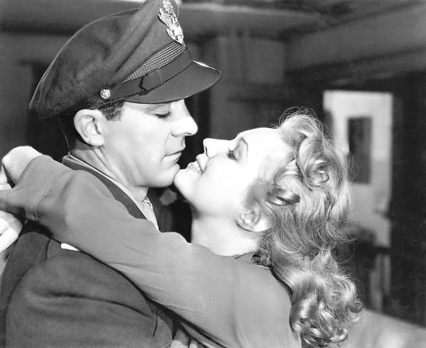 "A movie still from the 1946 film, ""he Best Years of Our Lives,"" which is being presented by the Laguna Beach Film Society. Pictured are actors Dana Andrews and Virginia Mayo."