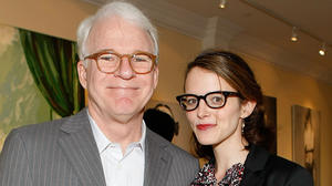 Steve Martin and his wife have a (nearly) new baby