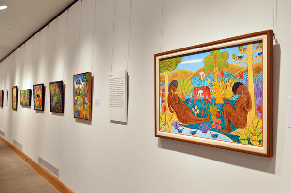The Allentown Art Museum is presenting Haitian art from the Rodale Family collection.