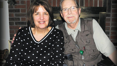 Gloria and Ray Alt are pictured at their home in Geistown on Feb. 6.