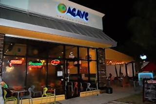 The exterior of Agave Mexican Fusion in Deerfield Beach