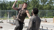 """The Walking Dead"" is a violent TV show, but is it the most violent TV show on the air right now?"