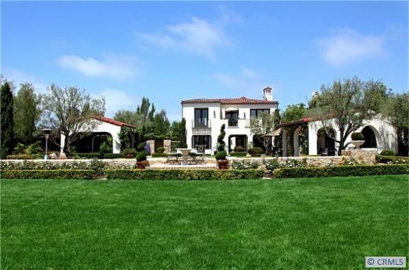 Bob Costas' newly purchased Newport Beach home.
