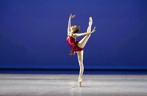 "Allynne Noelle in George Balanchine's ""Rubies."""