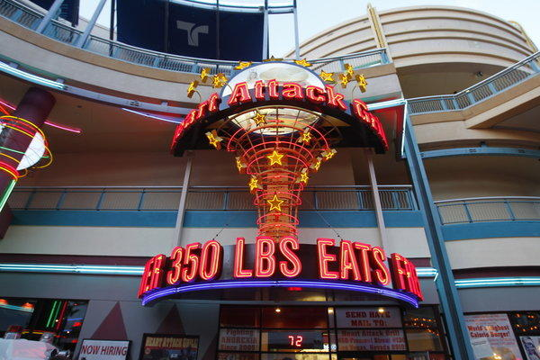 The Heart Attack Grill in Las Vegas specializes in calorie-heavy offerings.