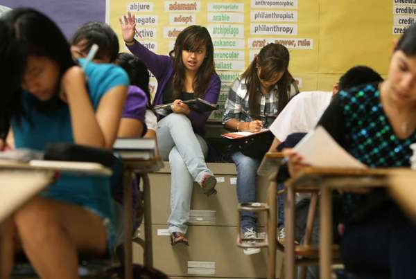 High school students' grades were strongly influenced by the grades of the friends in their social networks, a study has found.