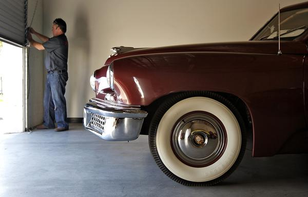 This 1948 Tucker 48 was the third in a total factory run of 51. It was once owned by filmmaker George Lucas.