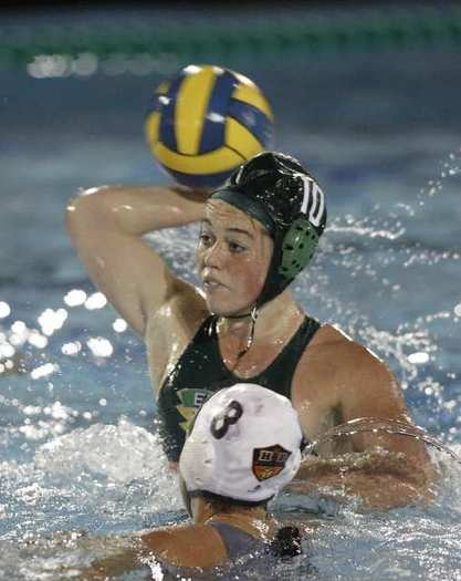 Edison High's Risa Burke scored four goals in a 9-7 win over Huntington Beach.