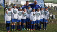 The Blue Crushers, a girls' under-10 team from AYSO Region 55 (Huntington Beach), took third place Sunday at the Section 11 tournament at Chapman Sports Park in Garden Grove.