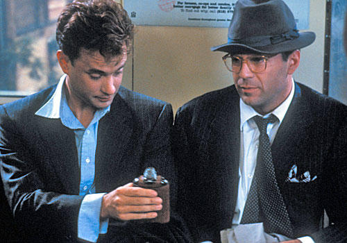 "The novel was the toast of the literary world, it starred the guy from ""Die Hard"" and Tom Hanks, the guy from ""Big,"" and the director had just scored a major hit with ""The Untouchables."" So how could this studio picture lose? In many ways -- in so, s"