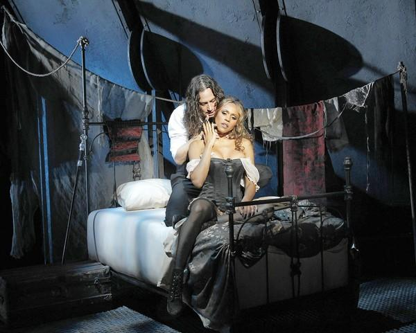 """Jekyll and Hyde"" stars Constantine Maroulis and Deborah Cox."